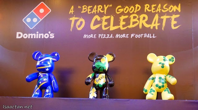 Popobe Bola Bears by Domino's - A 'Beary' Good Reason To Celebrate!