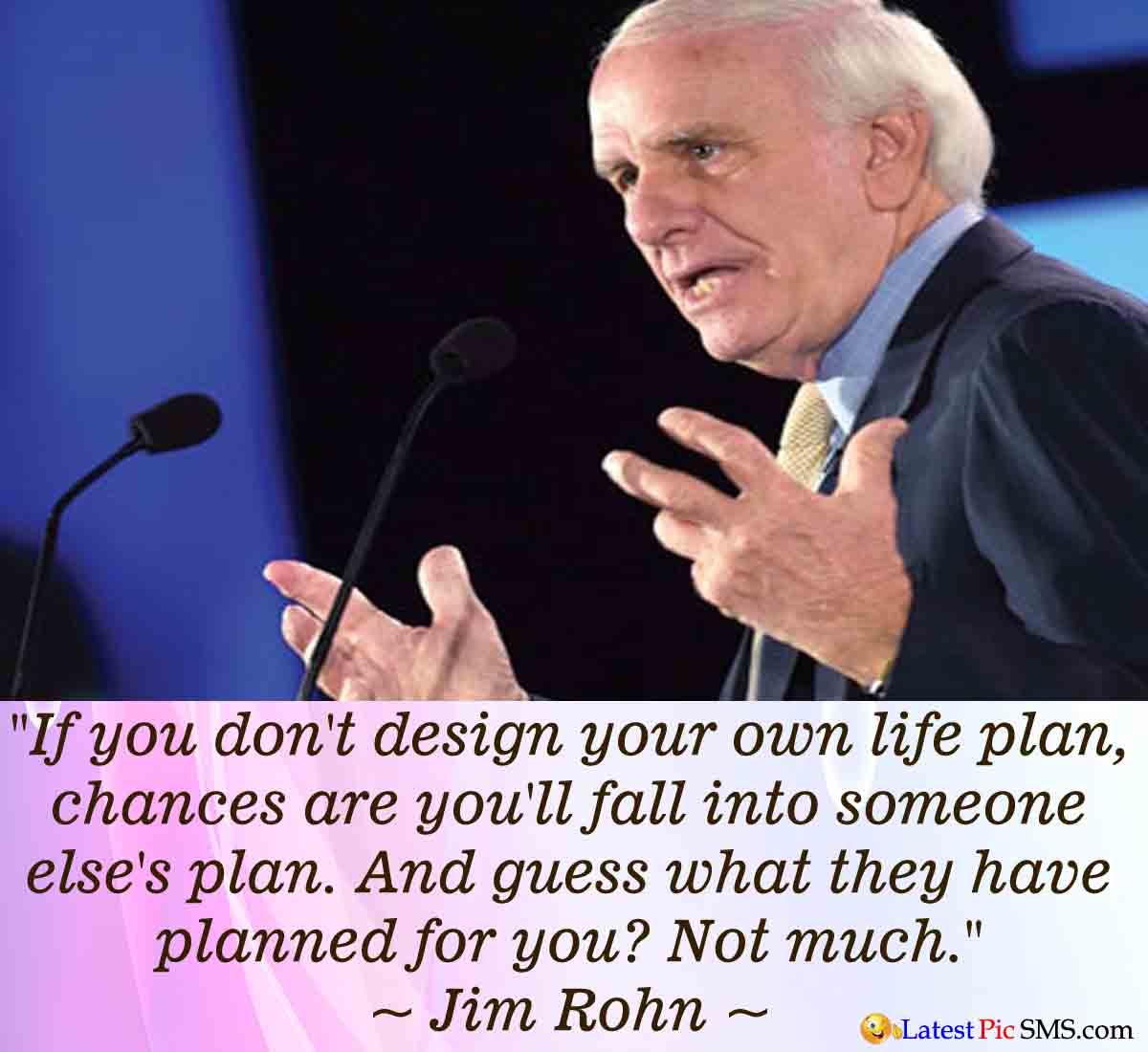 Jom Rohn life quote