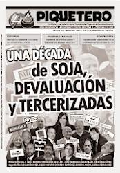 EL PIQUETERO - Nº4 - AÑO 3 - MAYO 2013