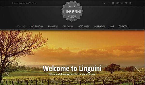 Linguini Wordpress Theme