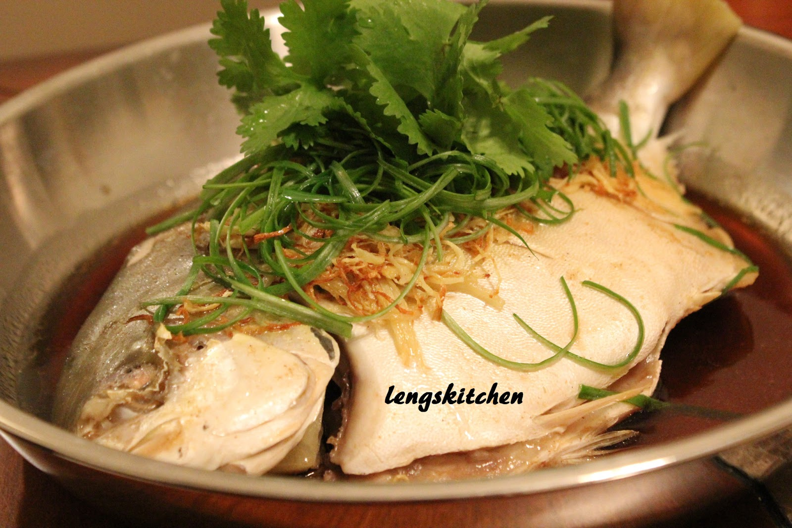 Kitchen chaos cantonese style steamed fish for Steamed fish recipes
