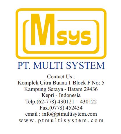 PT. Multi System: The Best Contractor di Batam Indonesia