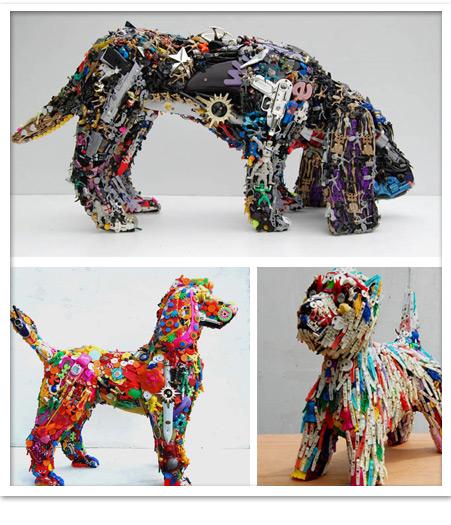 Arte Con Material Reciclado