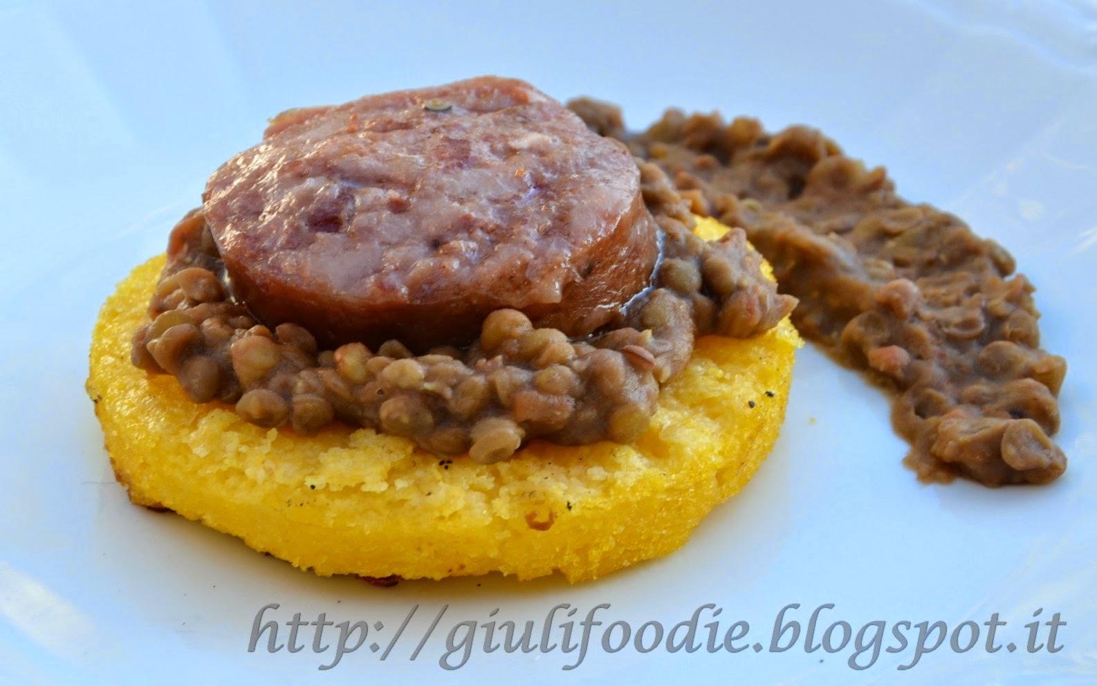 Giuli foodie le mie ricette in cucina cotechino con - Come cucinare le lenticchie con cotechino ...