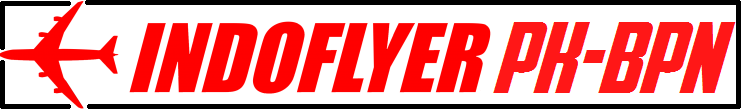 Indoflyer PK-BPN Spotters