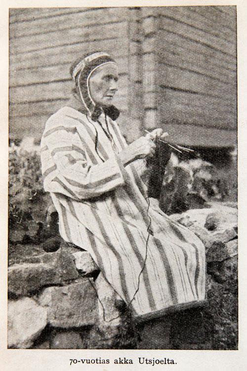 lupiinideitti vanhaa naista