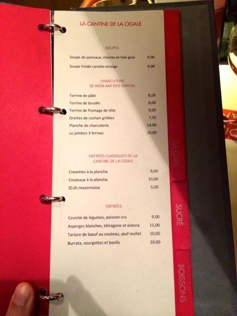 Not drinking poison in paris rock out la cantine de la cigale 75018 - La cantine du troquet dupleix ...