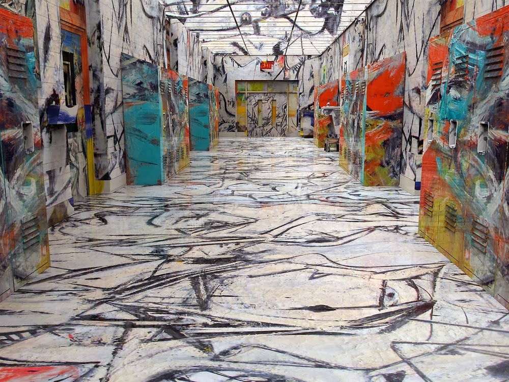 14-De-Kooning-Hallway-BNPJ-Brand-New-Paint-Job-Jon Rafman-www-designstack-co