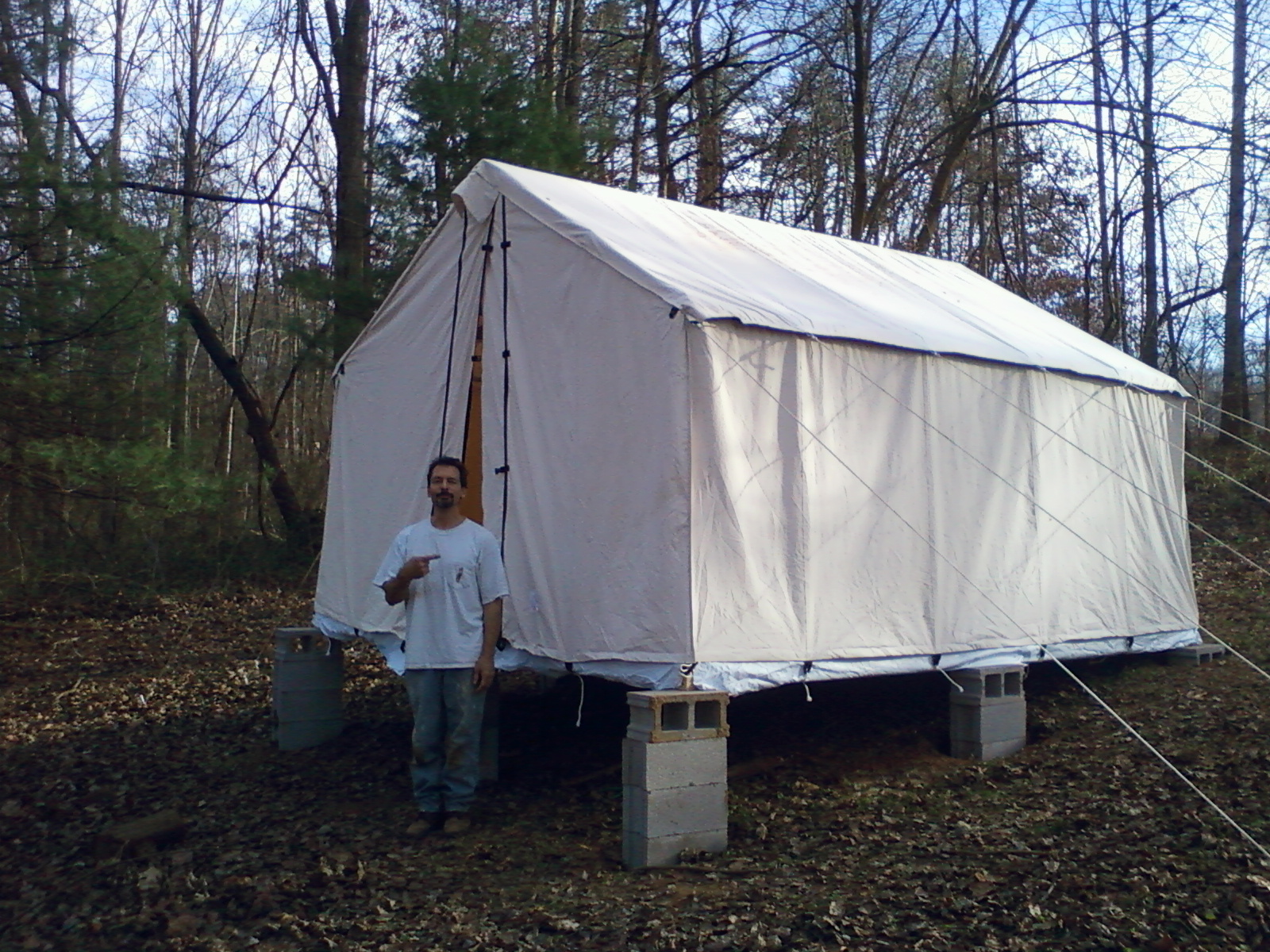 The canvas inner sanctum : canvas toilet tent - memphite.com