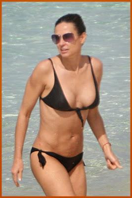Demi Moore Bikini