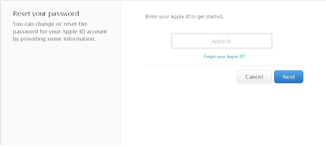 How to Change the Apple ID Password
