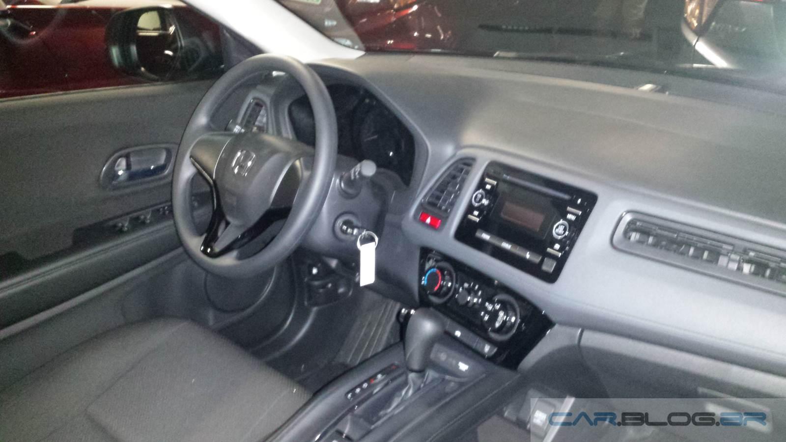 Honda hr v lx autom tico pre o r reais v deo for Honda hr v interieur