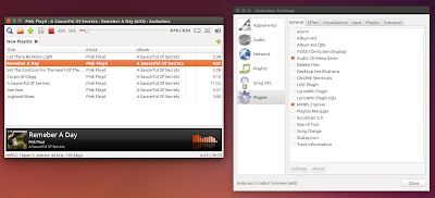 Audacious 3.6 alpha 1 - GTK2 interface