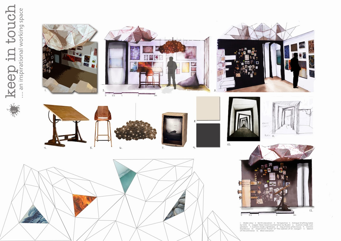 Mich le meister interior design portfolio for Interior design portfolio layout ideas