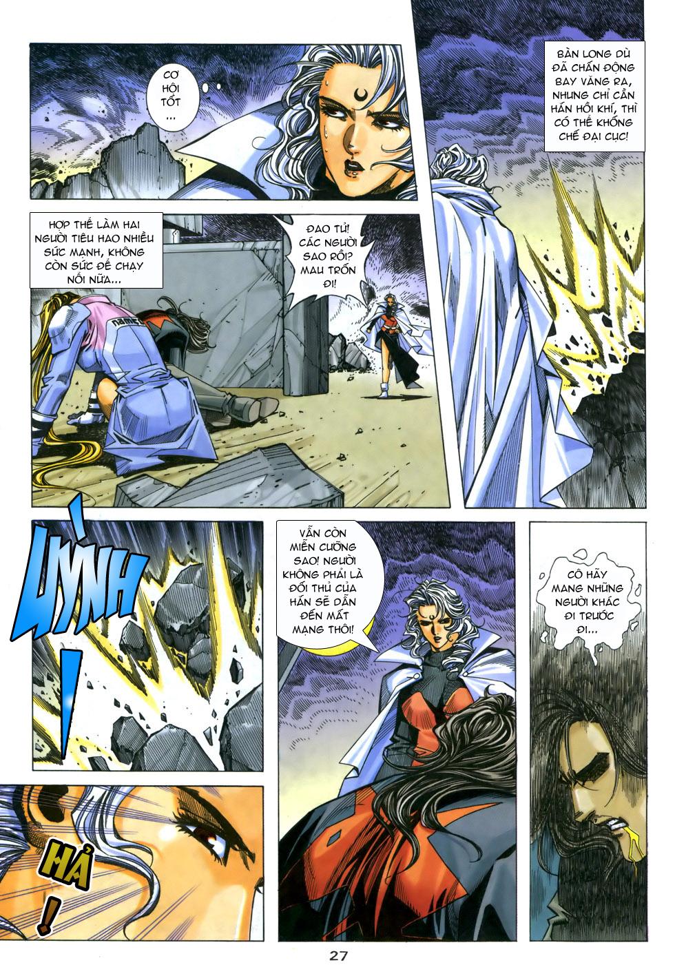 X Bạo Tộc chap 33 - Trang 27