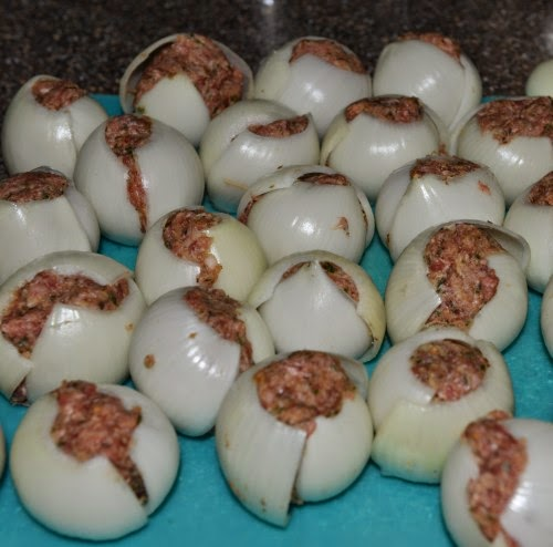 Grilled Summer Stuffed Onions