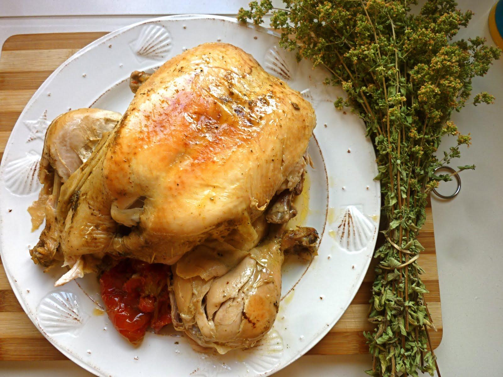 Alsol cocinando pollo entero al ajillo con tomate por for Cocinar un pollo entero