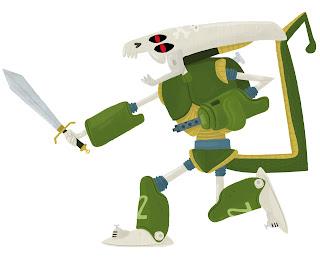 pablo elias ilustracion-battleroyale heroes