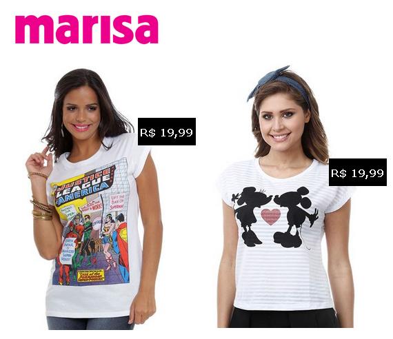 Camisetas Marisa