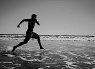 Y correr en contra del viento.