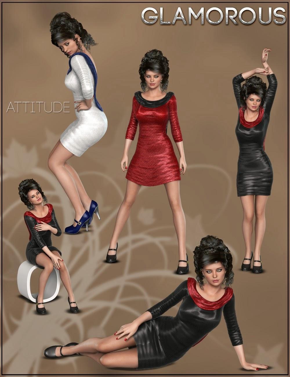 Poses glamour I13