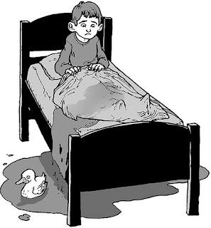 பெட் வெட்டிங், படுக்கையில் யூரின் போகுதல், Bed wetting, passing urine in bed