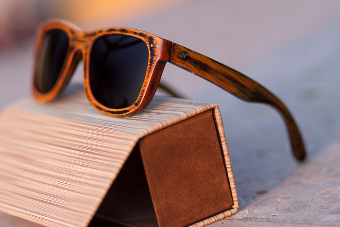 SIEMPREVERDE WOOD SUNGLASSES