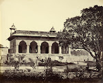 Marble-Palace-in-the-Agra-Fort---Agra-c1860's