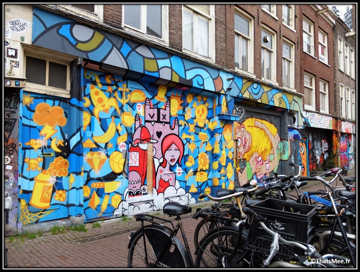 Street Art Wijdesteeg  Amsterdam 2014 Spuistraat