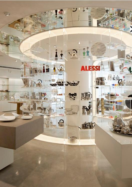 Modern Store Interior Design of Tollman Alessi