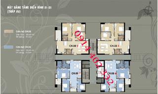 Thăng long Garden – chính chủ bán căn hộ Thăng Long Garden Tòa A3 giá 18tr/ m2!!