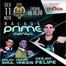 BALADA PRIME, dia 11/Nov., no Boteco Cajá Beer
