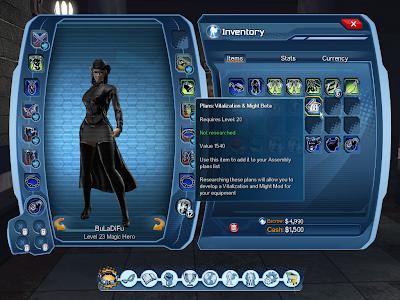 DC Universe Online - Equipment Mod Plan