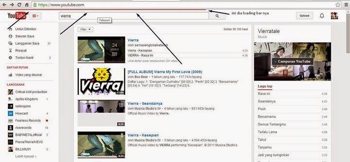 Membuat Loading Bar Progress Ala Youtube Di Blog