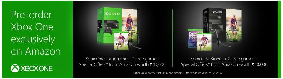 Exclusive Xbox One Offer!