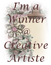Winner at Creative Artiste