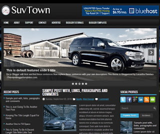 SuvTown-Blogger-Template