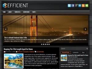 Efficient - Free Wordpress Theme