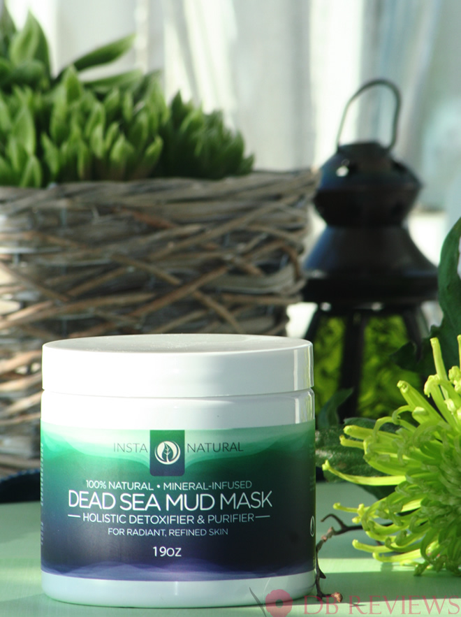 The InstaNatural Dead Sea Mud Facial Mask - Review