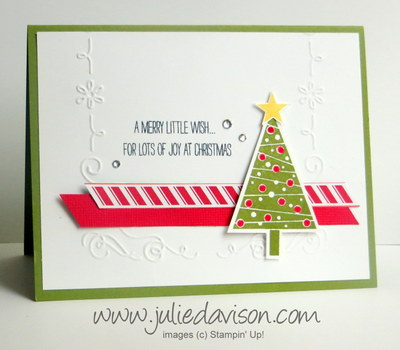 Stampin' Up! Festival of Trees Card
