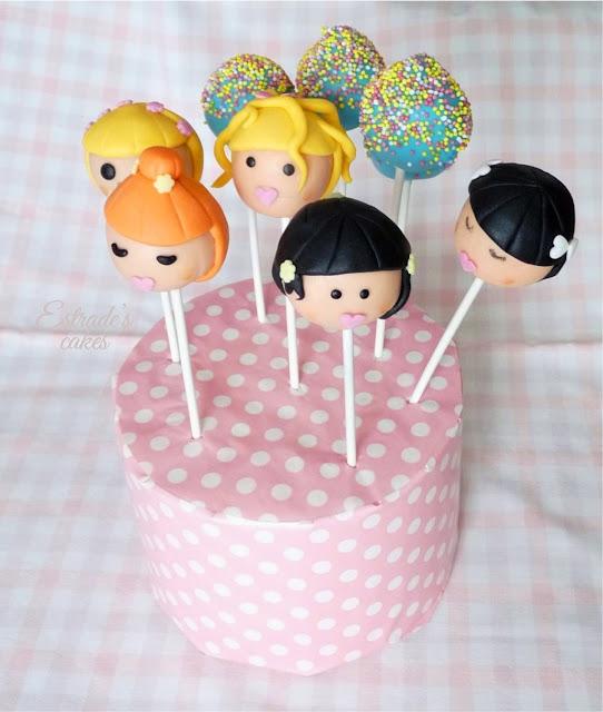 cake pops de muñecas - 2
