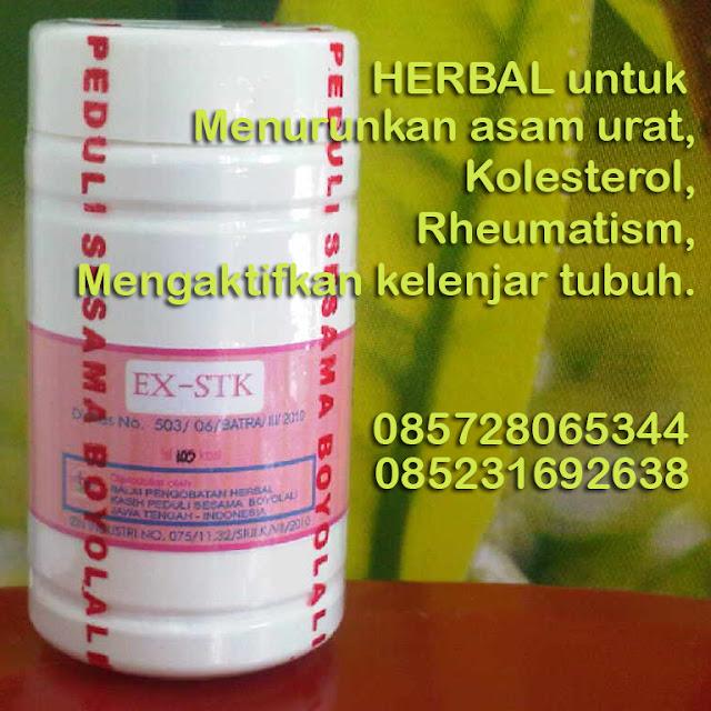 Herbal Asam Urat dan Kolesterol - 085231692638 atau 085728065344 atau 085728503421 - keluargasehat STK