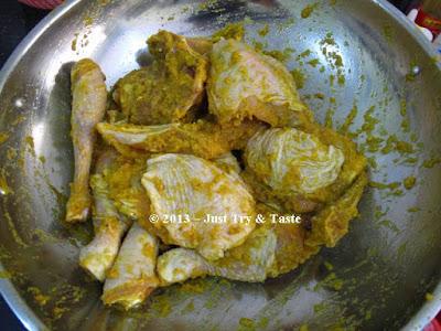 Resepi Ayam Masak Ungkep