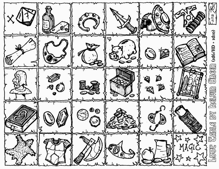 Kelvin Green & Dyson Logos Mashup Table