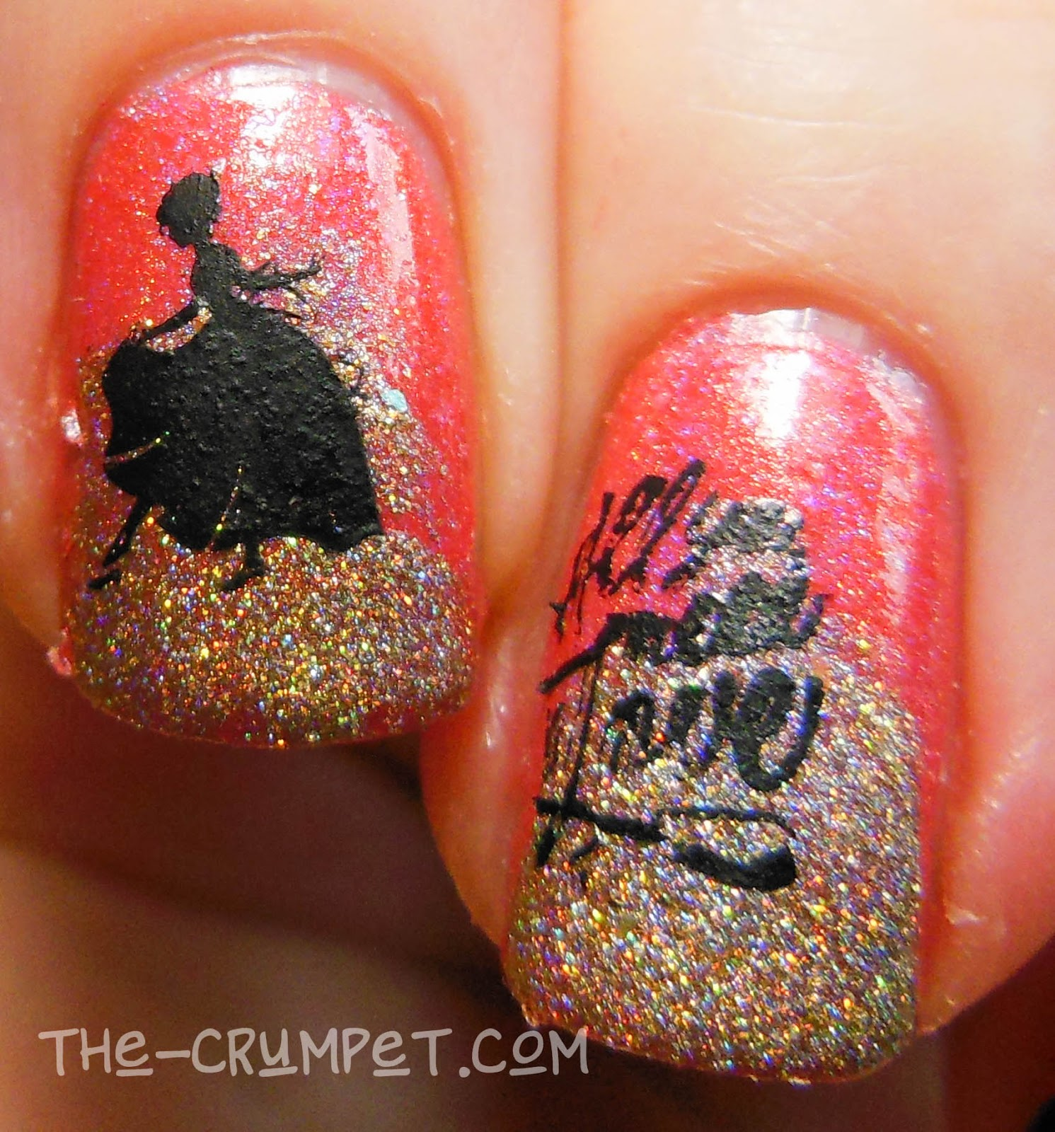 40 Great Nail Art Ideas - New Years Eve (& Born Pretty stamping ...