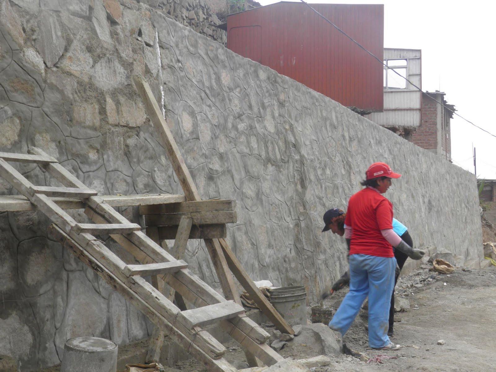 Al aire de la red enero 2013 - Muros de contencion de piedra ...