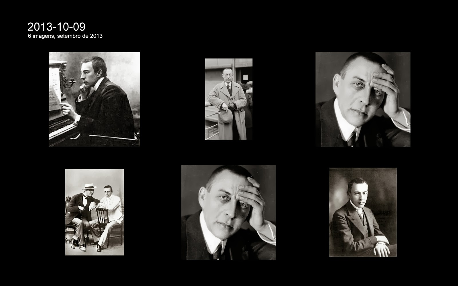 Sergey Rachmaninov (1873-1943).