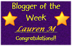 Blogger of the Week 1