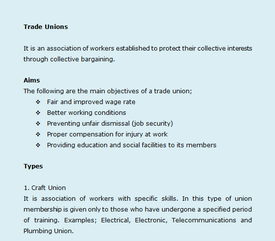 an analysis of the trade unions and their roles There is scant consideration or analysis of the actors, their how trade unions will need to adapt their unions in the sustainable development agenda.