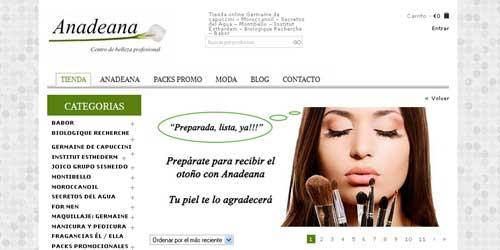 comprar maquillaje online anadeana